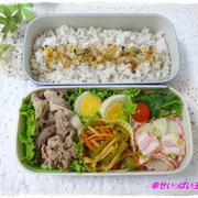 ☆豚肉と蓮根炒めのお弁当☆