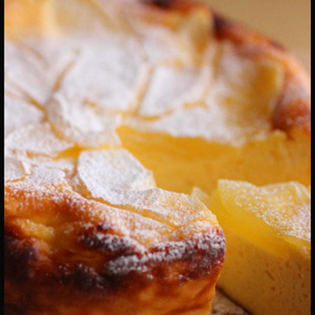 水きりヨーグルトとホットケーキミックスでチーズケーキ