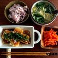 【簡単!!】カリカリ豆腐のネギ甘酢だれで和定食と、お菓子の本