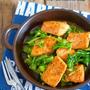 【レシピブログ連載】彼のご飯がモリモリすすむ♡『春キャベツと鮭のガリバタ醤油ソテー』
