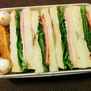 今日のお弁当 第1453号 ~サンドウィッチ弁当~