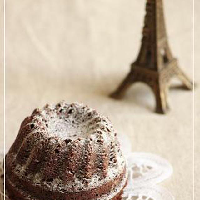 チョコレートのプチクグロフ