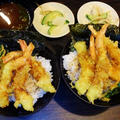 握り寿司と上天丼ランチ☆無添蔵平日ランチ♪☆♪☆♪