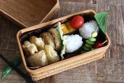 簡単おかずの鶏むね肉天ぷら弁当レシピ!詰め方も合わせて紹介