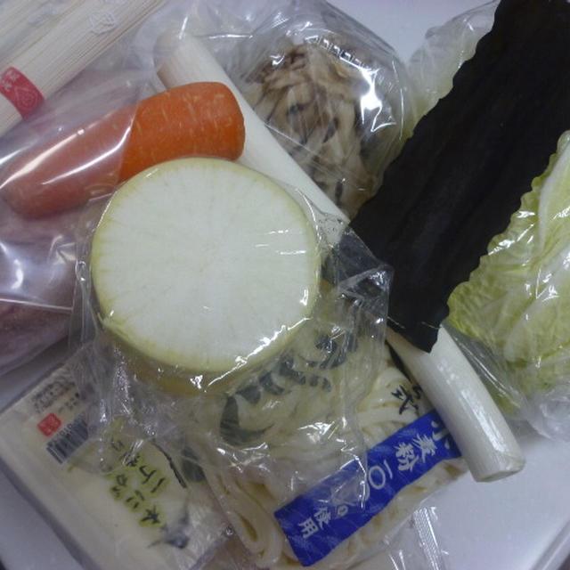 塩麹入り鶏鍋
