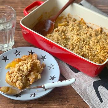 【時短おやつレシピ】リンゴの季節を楽しもう!簡単デザート!