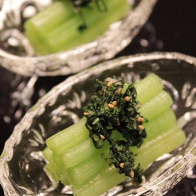 蕗の翡翠煮と人が美味しいと感じる塩分濃度について。