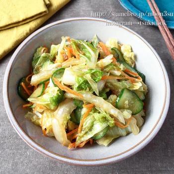 たっぷり食べれる【白菜の和風ナムル】#節約 #作り置き