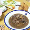 ベルギー料理・牛肉の黒ビール煮込み♪を食べて日本を応援♪