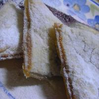 チーズとブルーベリーの焼きパイ☆