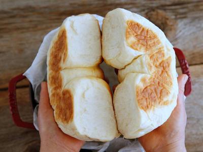 オーブン不要!ストウブで作る『ちぎりパン』