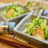 【レモンバジル味】じゃがいもとゴーヤのシャキシャキ夏サラダ(スパイス大使)
