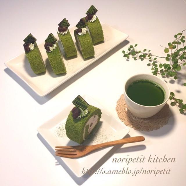 世界も注目の日本のスーパーフードとは?とノンオイル抹茶シフォンロール♡