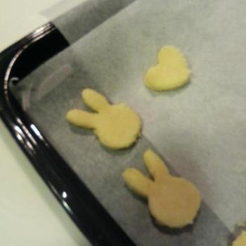 今日はムスメとクッキーを焼きました
