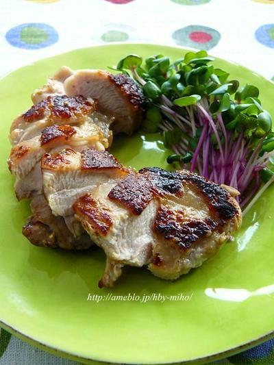 鶏肉の玉ネギマリネ焼き
