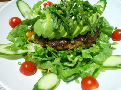 サラダハンバーグ