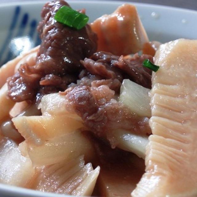 牛肉スライスと筍や白菜の和風炒め:炒め物の順番についての考慮:「年相応」ってわかりたくない