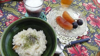 妻のリクエストde土鍋2つの洋風朝食