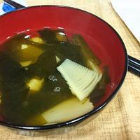 〈ヤマキだし部〉☆若竹汁☆筍ご飯にはやっぱりこれですね♪