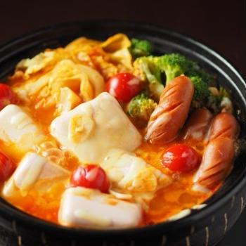 トマト湯豆腐鍋 、 男前豆腐レシピ