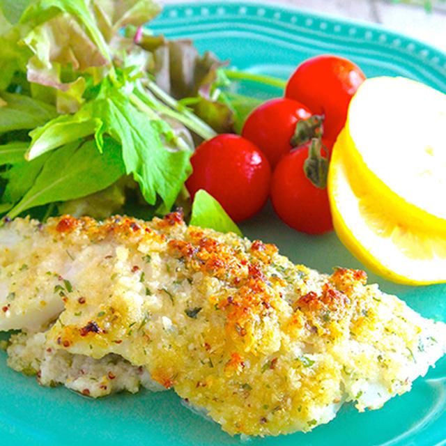 魚嫌いをも唸らせる美味しさ!トースターにお任せ♡白身魚のマヨチーズパン粉焼き《簡単★節約》