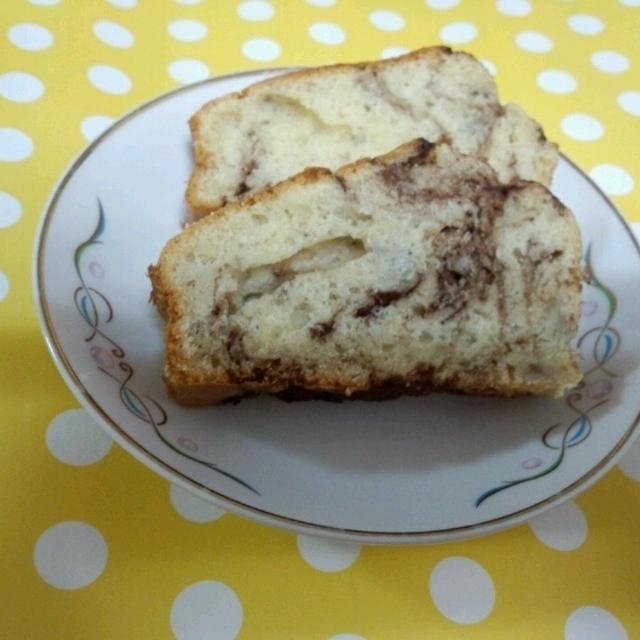 マーブルパウンドケーキ