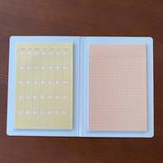 【ダイソーお気に入りアイテム】手帳にも家計簿にも使える♪付け外し自由自在な付箋