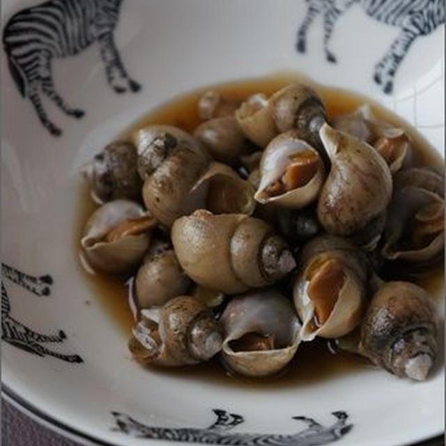 小さいけれど味なヤツ。<ばい貝のうま煮レシピ>