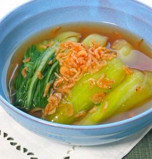 あると嬉しいあと一品の簡単作り置き〜冷やしても美味しい青梗菜と桜えびの白だしさっと煮。