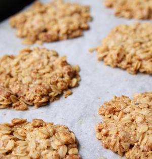 グルテンフリー食物繊維4倍オートミールクッキーレシピ