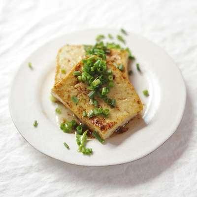 島豆腐ステーキ(まかない)