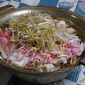 鹿児島 三味豚ともやしと舞茸のだし蒸し鍋