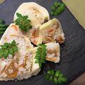 酢飯を詰めて旬のお手軽「たけのこ寿司」