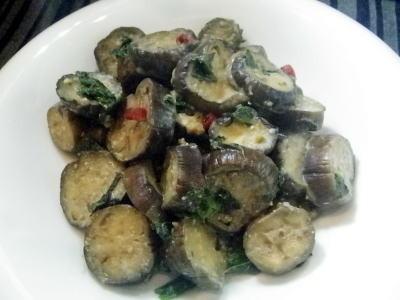 なすの油味噌炒め・料理レシピ