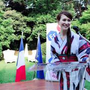 フランス大使館へ。日仏友好160周年!革命記念日 祝賀レセプションへ