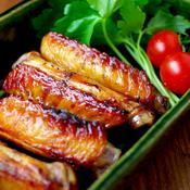 中華風☆手羽先の照り焼き 花椒の香りを添えて♪