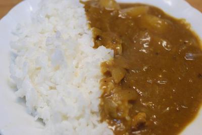 ターキー骨スープと自作カレールウ
