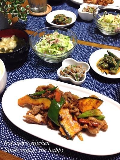豚肉といろいろ野菜のピリ辛炒め♡公式トップブロガー…お知らせ