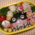 バイキンマンキャラ弁♡可愛いお弁当 by manaママさん