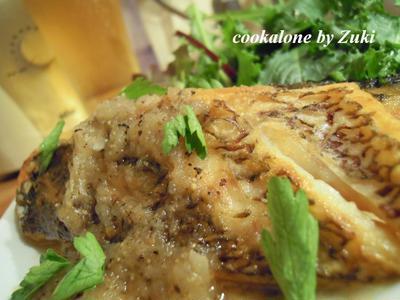 真鯛のポワレ・新タマビネガーソース