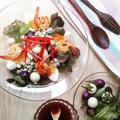 レシピ☆ ノンオイルでヘルシー!小なすとグリルえびのタイ風サラダ