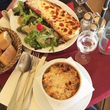 【パリ旅行】おすすめのオニオングラタンスープ