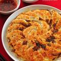 筍と春キャベツの焼き餃子