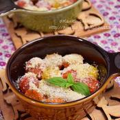 ミニトマトのイタリアンオーブン焼き