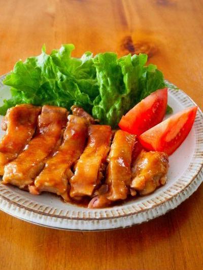 レンジで簡単!やわらか照り焼きチキン♪鶏肉人気No.1レシピ