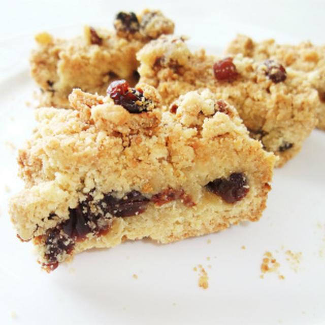 レーズンのクランブルクッキー(マクロビ卵・乳製品不使用 )