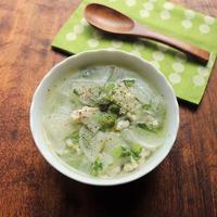 【スパイスアンバサダー】じんわり美味しい☆鶏ひき肉と大根のスープ |#GABANブラックペパー