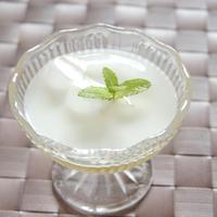 【レシピ作成】娘と一緒に作成♪マシュマロ入り♪練乳とアニス風味ゼリー