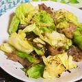 豚肉とキャベツの塩昆布炒め|レシピ・作り方