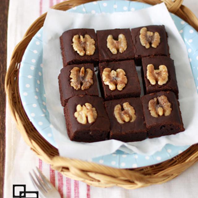オーガニックチョコレートブラウニー